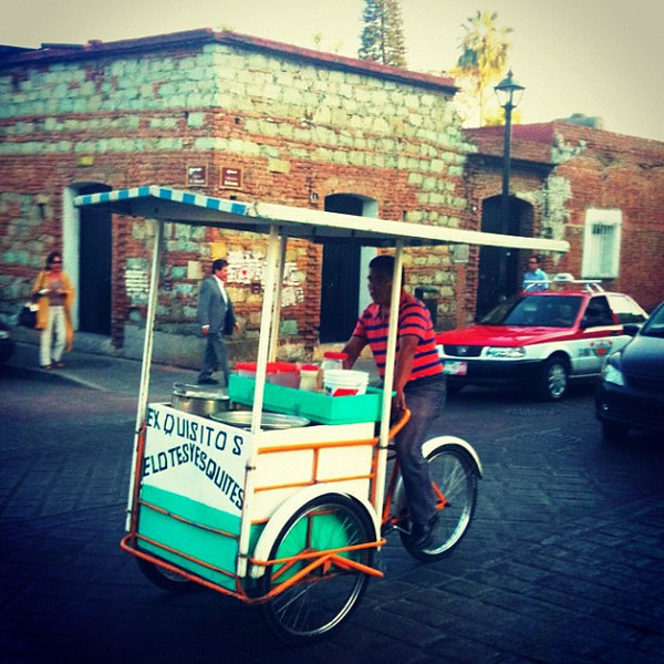 Mobile street food - Oaxaca, Mexico