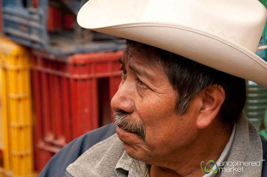 Mexican Man - Etla Market, Oaxaca