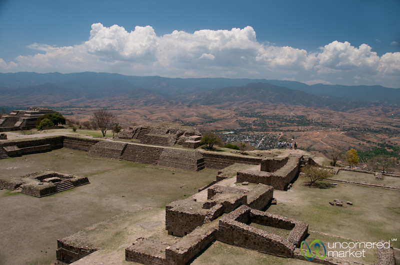Monte Alban Mountain View - Oaxaca, Mexico