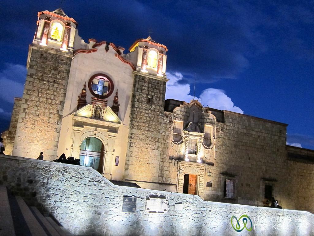 Plaza de la Danza at Night - Oaxaca, Mexico