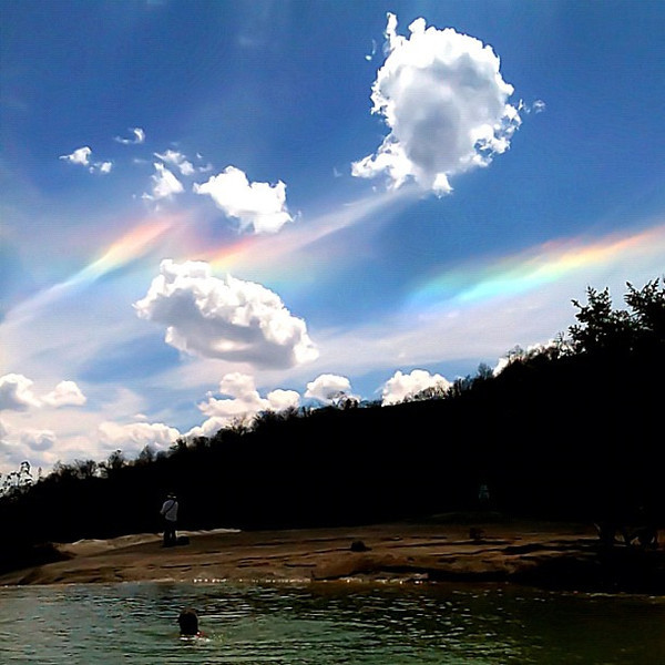TGIF, Give it a like if you heart rainless rainbows
