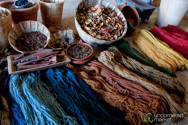 Naturally Dyed Wools - Teotitlán del Valle, Oaxaca