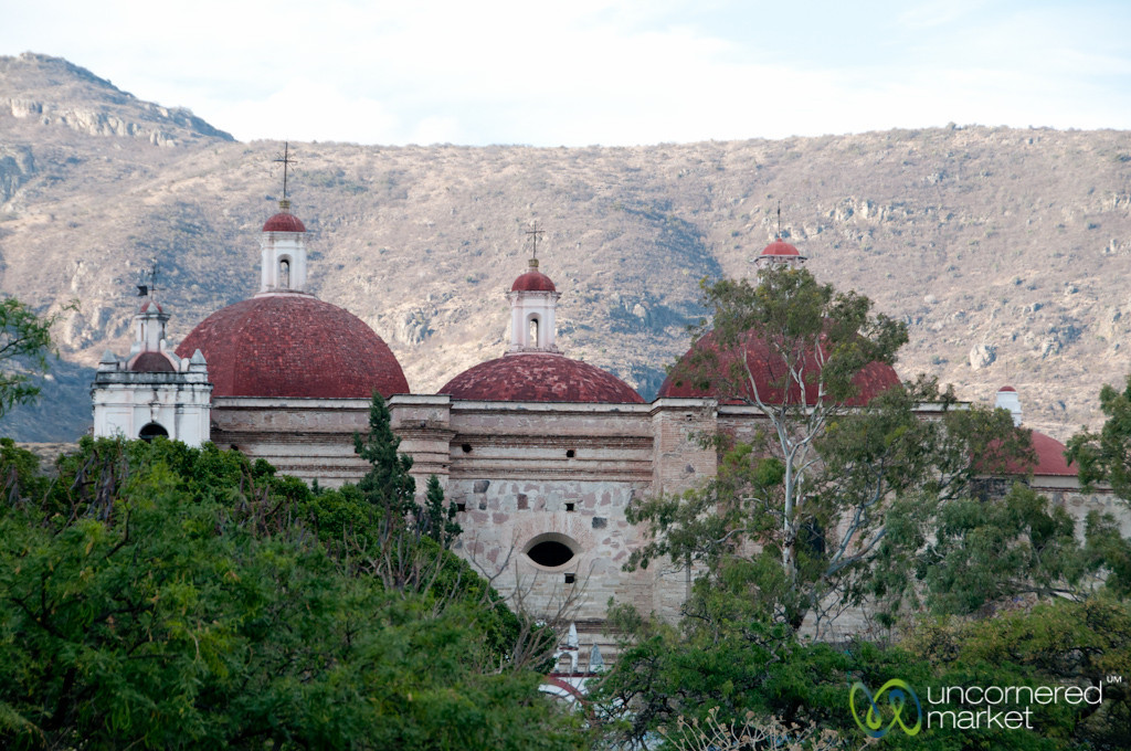 Church in Mitla - Oaxaca, Mexico
