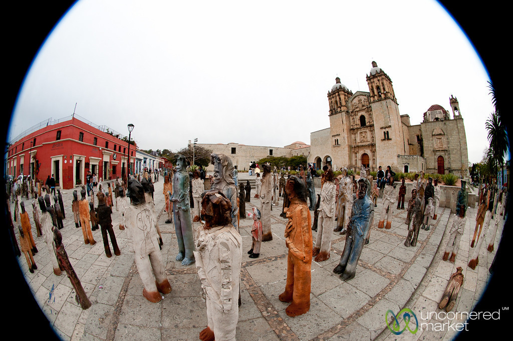 2501 Migrants Exhibit - Oaxaca, Mexico