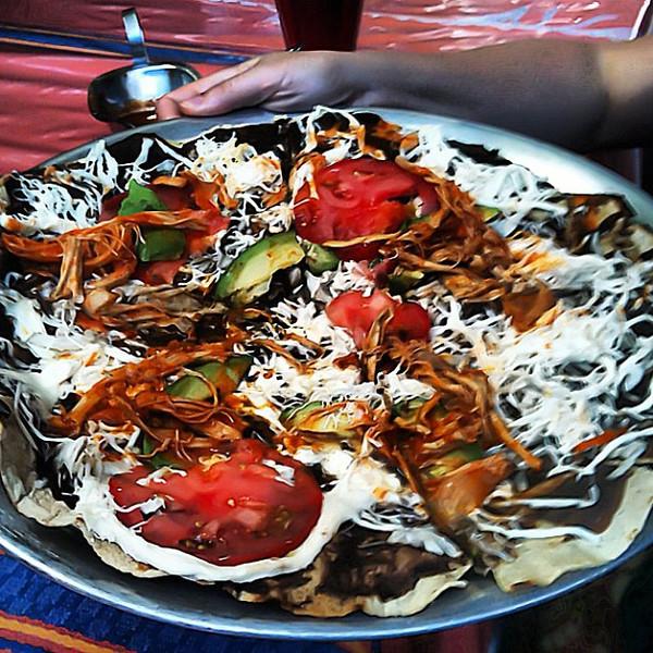 Tlayuda Oaxaquena, nom nom #Oaxaca #Mexico #foodie #foodporn