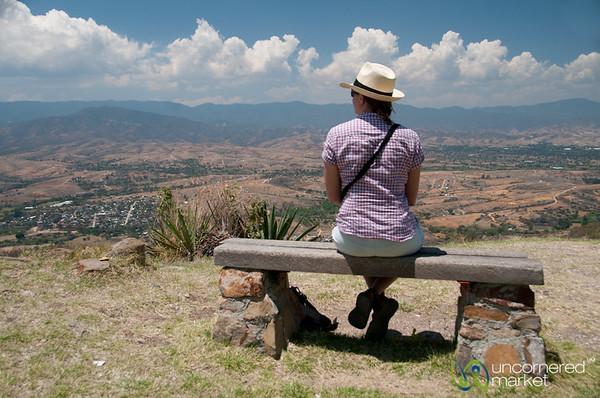 Audrey at Monte Alban - Oaxaca, Mexico