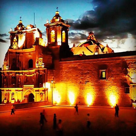 Valentine's stroll -- Plaza de la Danza #Oaxaca #mexico