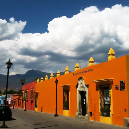 Afternoon was shaping up nicely, #Oaxaca sky