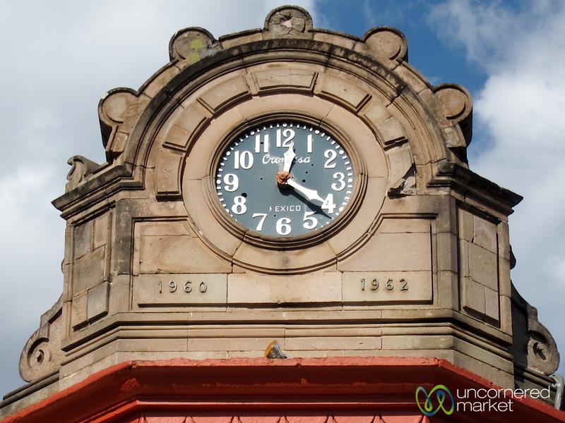 Oaxaca Clock Tower - Mexico