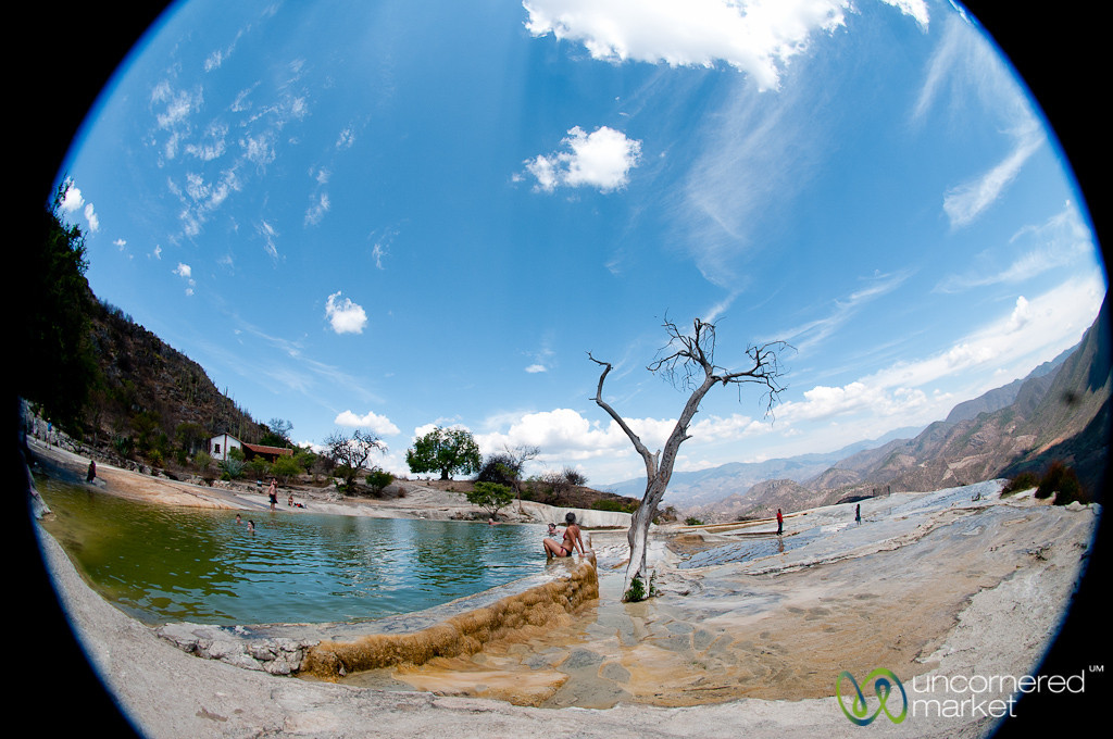 Natural Springs of Hierve del Agua - Oaxaca, Mexico