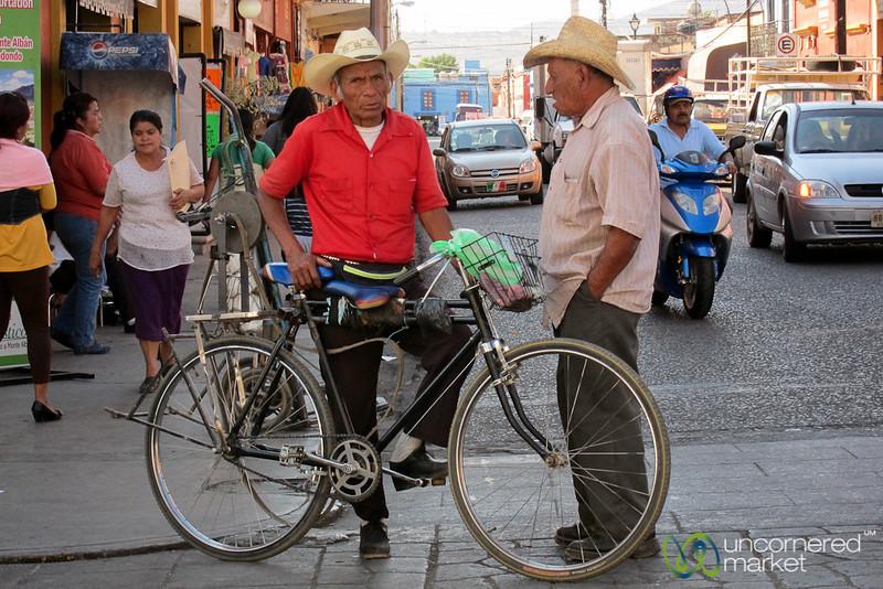 Cowboy Hats in Oaxaca, Mexico