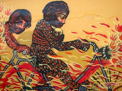 Oaxaca's Street Art - Mexico