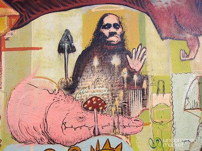 Indigenous Street Art - Oaxaca, Mexico