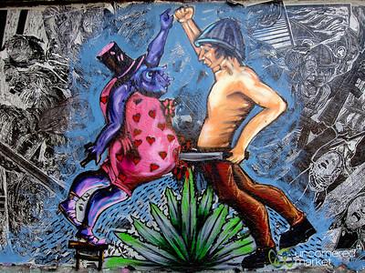 Unusual Oaxacan Street Art