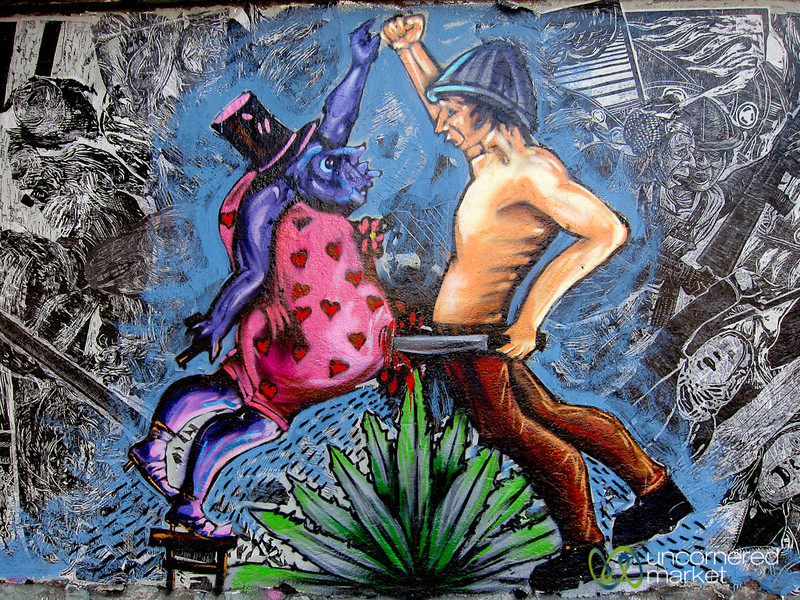 Unusual Oaxacan Street Art