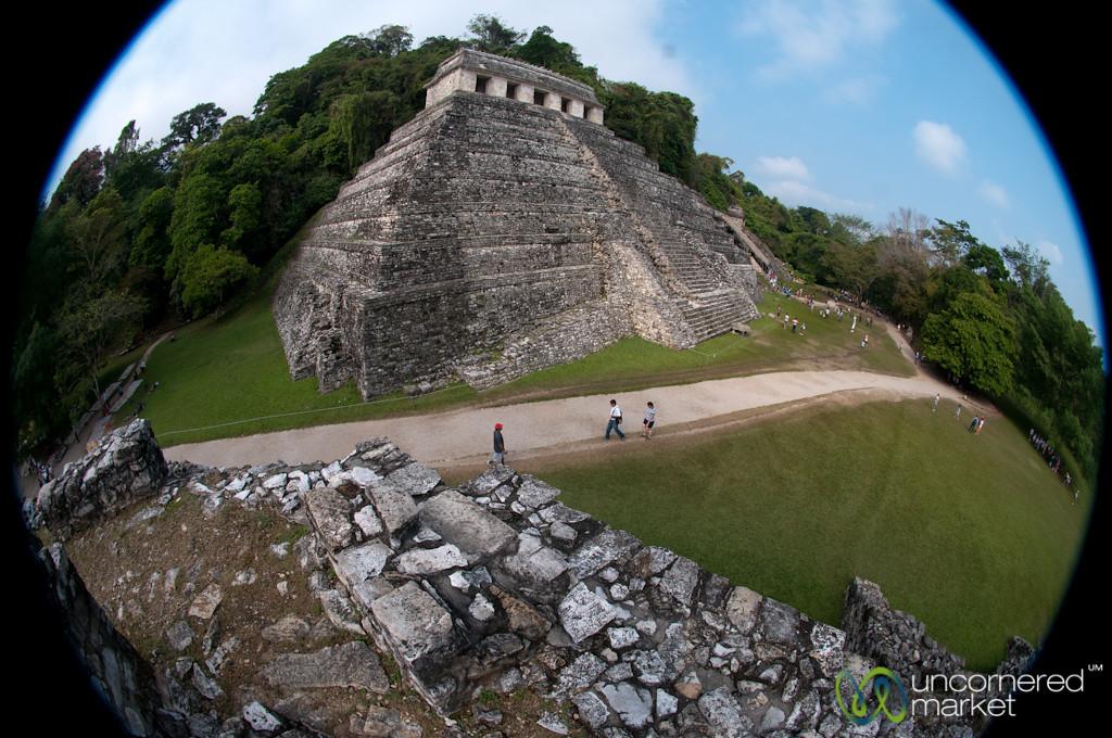 Palenque Temple of the Inscriptions - Chiapas, Mexico