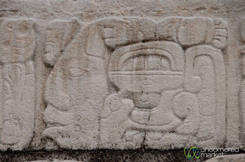 Mayan Engravings - Palenque, Mexico