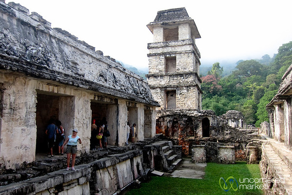 Palenque Palace Observation Tower - Chiapas, Mexico