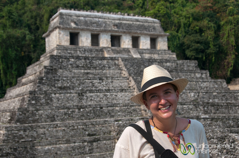 Audrey at Palenque - Chiapas, Mexico
