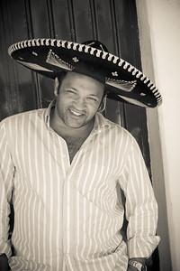L'Artiste au Mexique. Merci Felipe for that nice shot ;-)