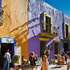 Breathtaking atmosphere & unreal colors in this street life scene in Puebla !! <3 Mexico ;-)
