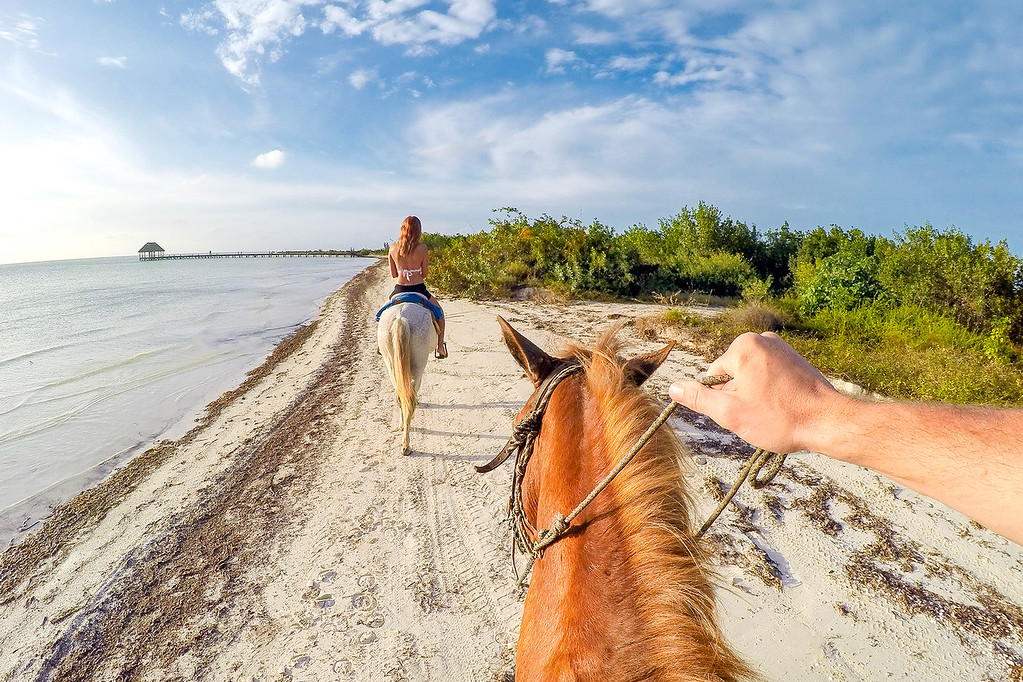 Horseback Riding In Isla Holbox