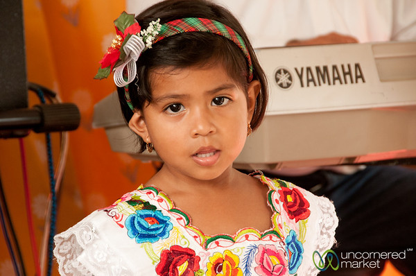 Mexican Girl - Cozumel, Mexico