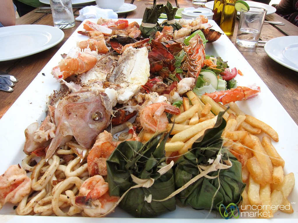 Seafood Feast at Tulum Beach - Riviera Maya, Mexico