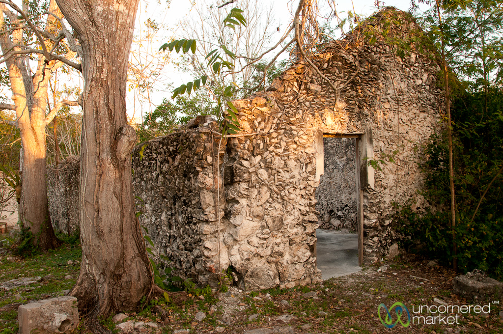 Late Afternoon at the Hacienda - Yucatan, Mexico