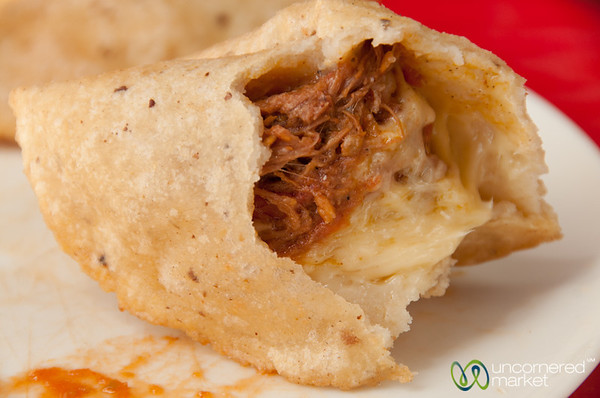 Tinga Empanadas - Cozumel Food Tour, Mexico