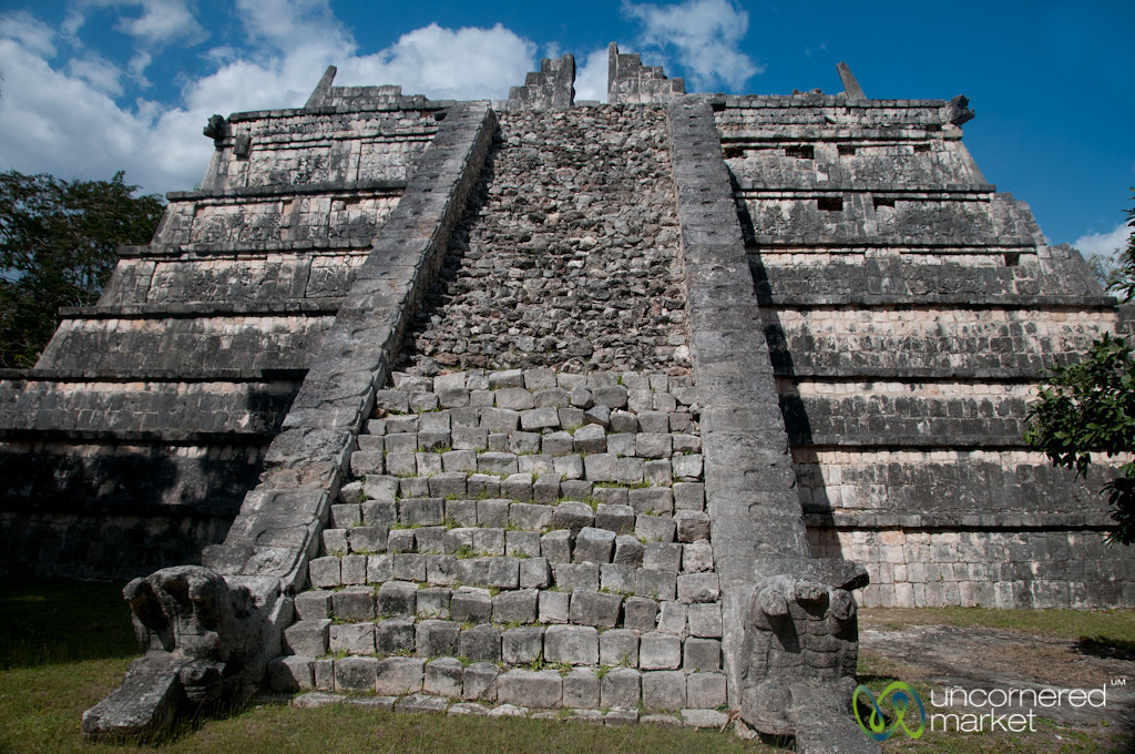 Mayan Ruins at Chichen Itza - Yucatan, Mexico