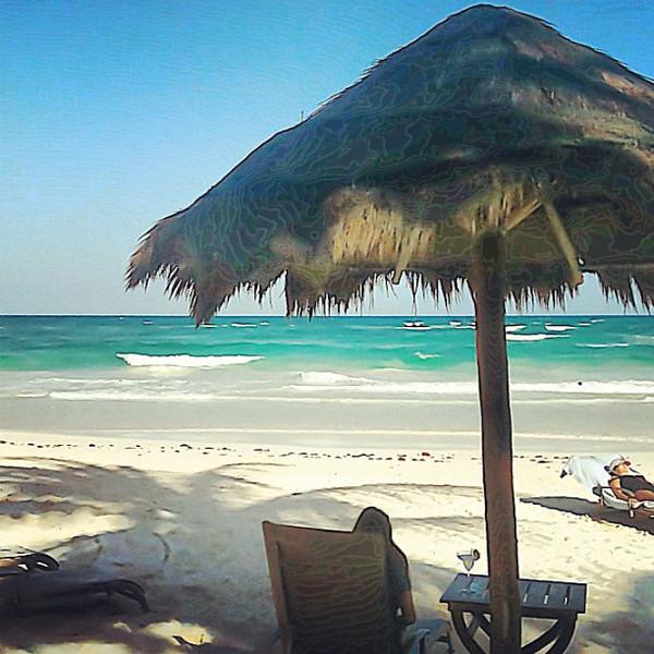 Missing Tulum beach, Riviera Maya, #WeVisitMexico