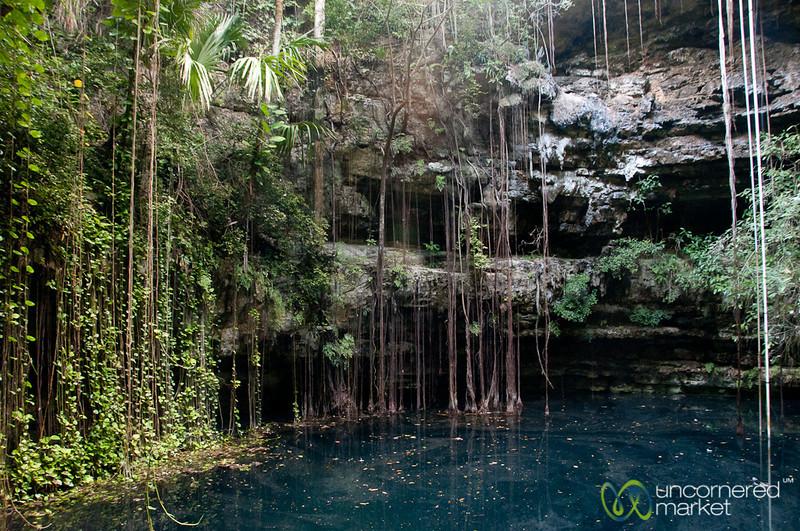 Xochempich Cenote, Tropical Paradise - Yucatan, Mexico