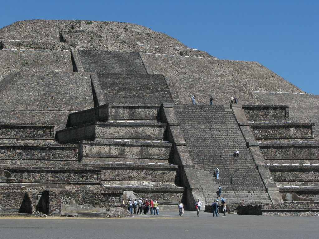 Temple of the Moon - Teotihuacan, Mexico