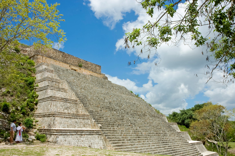 The Great Pyramid of Uxmal