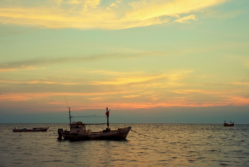 Sunset on the Bay of Campeche