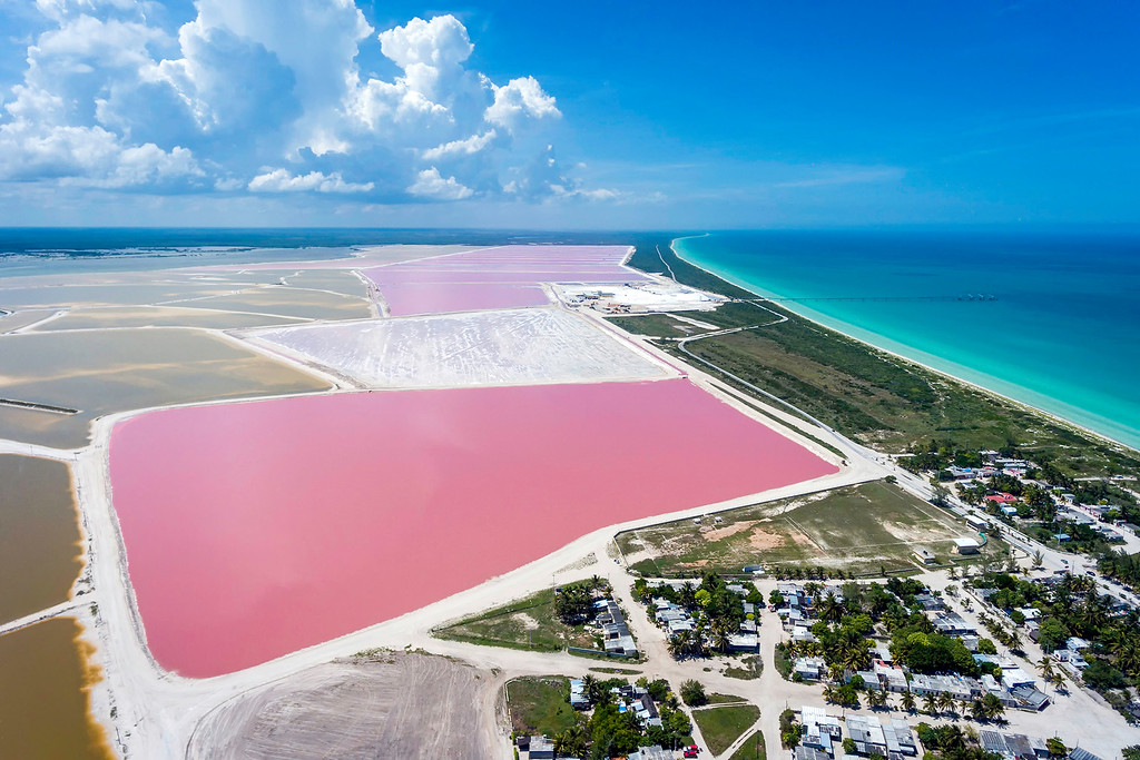 Las Coloradas Drone Shot