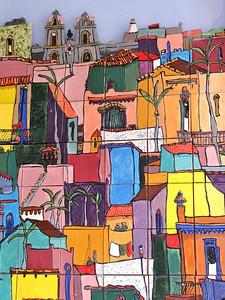 Wall art in Little Havana