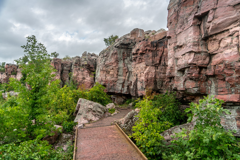 Trail in Pipestone National Monument, Minnesota