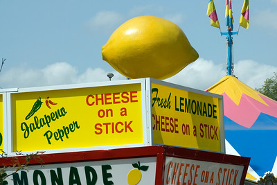 Food stall in the 2009 Minnesota State Fair