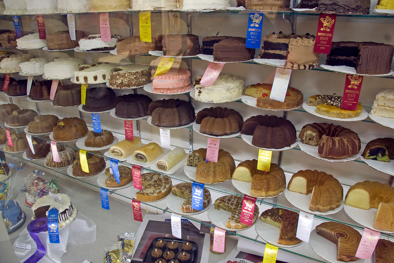 Assorted pastries at the Minnesota State Fair 2009