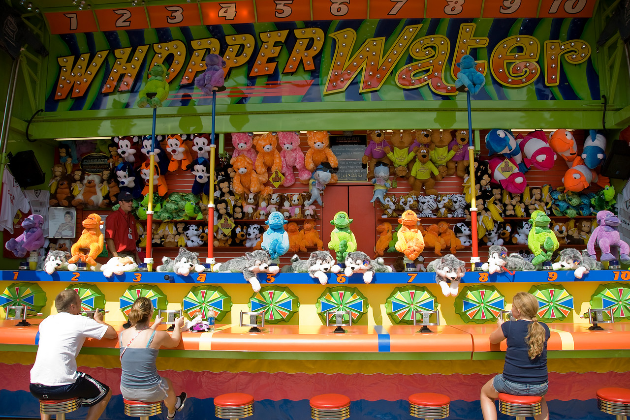 Arcade at the 2009 Minnesota State Fair