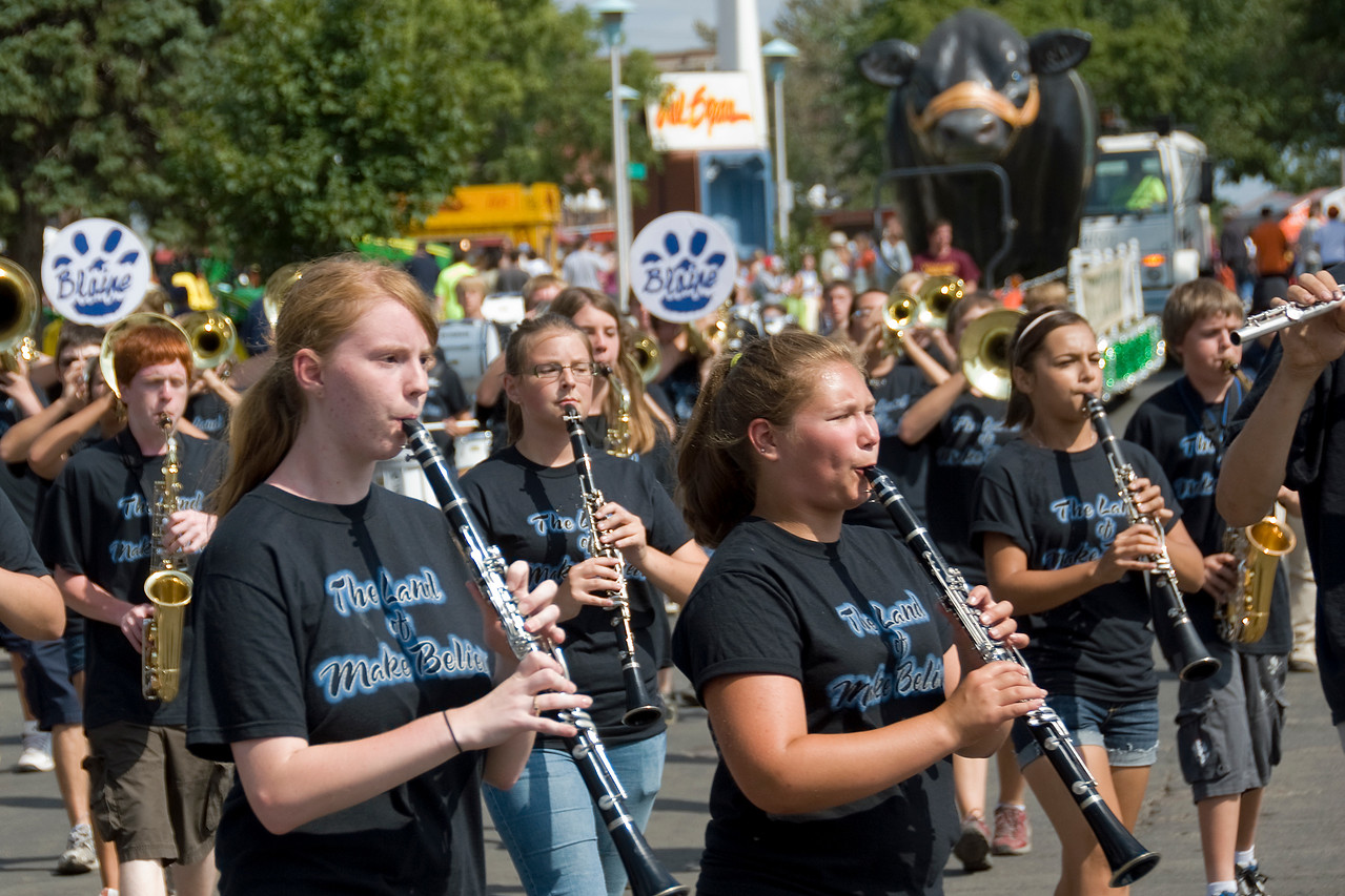 Band at the 2009 Minnesota State Fair