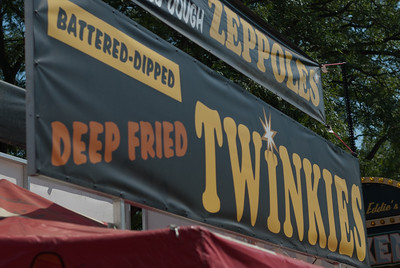 Food stall at the 2010 Minnesota State Fair