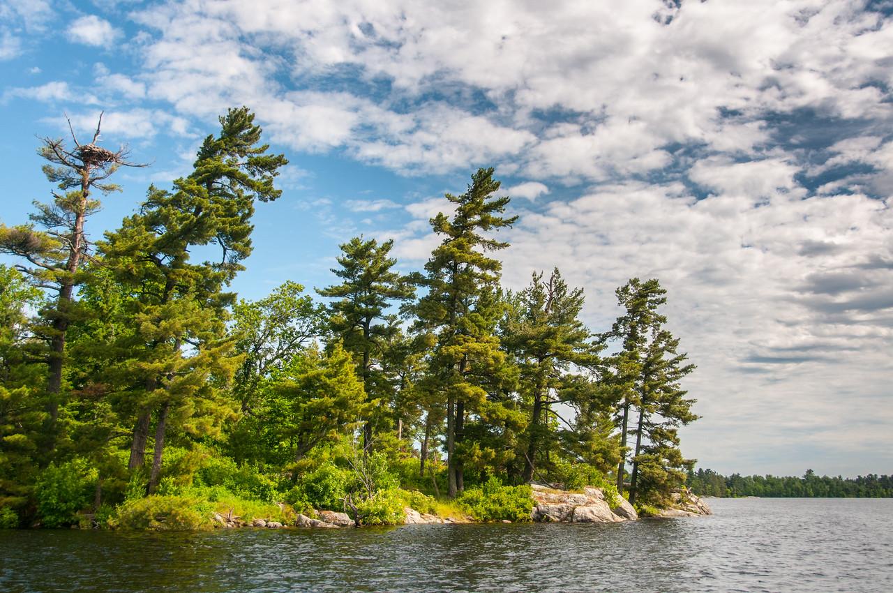 Voyageurs National Park in Minnesota, USA