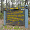 Sign on the Natchez Trace in Mississippi