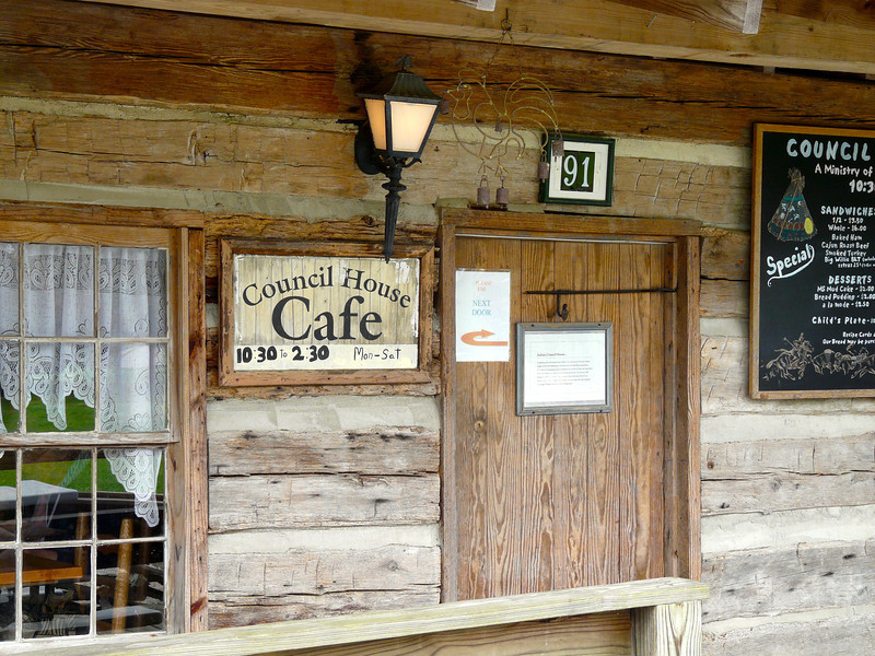 Council House Cafe on the Natchez Trace