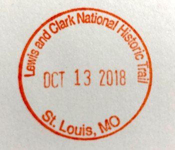 Lewis and Clark Passport Stamp