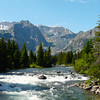 East Rosebud drainage on the way to Alpine, Montana