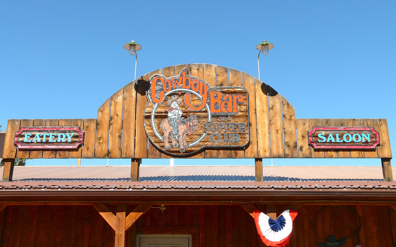 Cowboy Bar and Supper Club in Fishtail, Montana